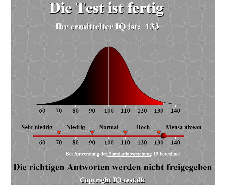 guter iq test